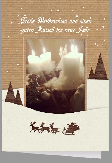 Pers nliche weihnachtskarten bei entwerfen for Weihnachtskarten text privat