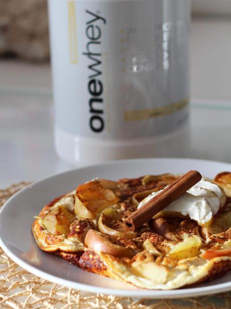 apfel vanille protein pancake rezept. Black Bedroom Furniture Sets. Home Design Ideas