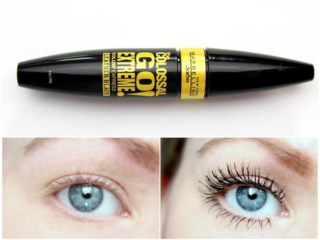 Mascara-Montag (3): Maybelline The Colossal Go Extreme! Leather Black