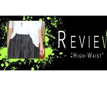 """HIGH WAIST"" CHIFFON SKIRT [REVIEW]"