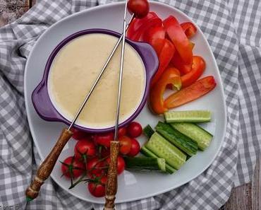 Käsefondue - klassisch mit Weißwein
