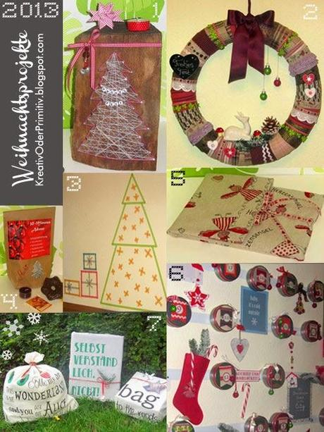 R ckblick weihnachtsprojekte 2012 2013 for Geschenke billig