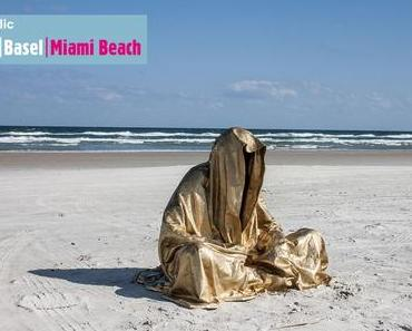Miami and Miami Beach Art Fair Guide Online Guide to Miami Art Week 2014 – Guardians of Time by sculptor artist photographer Manfred Kielnhofer
