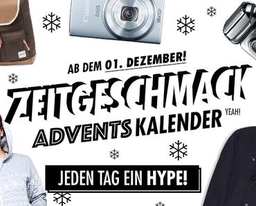 Der ZG! ADVENTSKALENDER FÜR MÄNNER – ab 1.12!