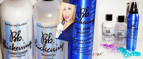 Bumble bumble Thickening Serie