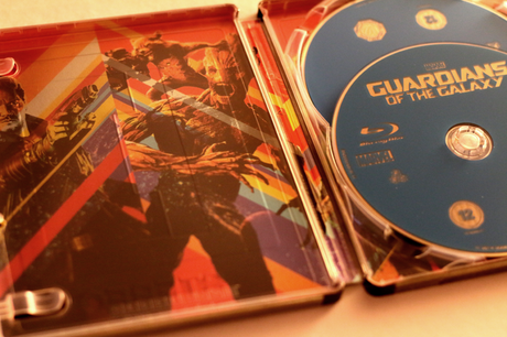 Unboxing #1 Guardians Of The Galaxy (UK Steelbook)
