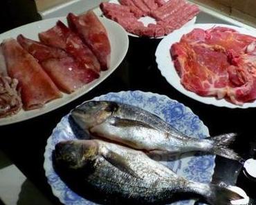 Veganisches Essen und andere Ernährungsvorschriften