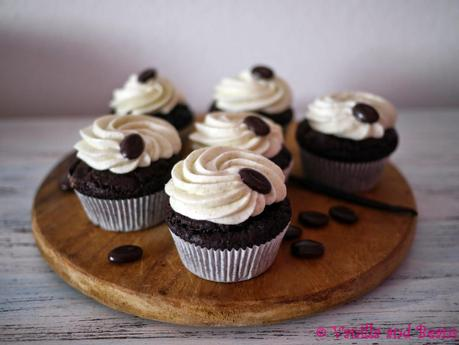 (Irish) Coffee or Mocha Cupcakes *vegan*