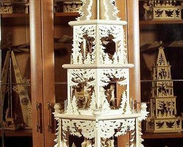 Advent, Advent ein Lichtlein brennt: Weihnachtspyramiden und Drehlichter