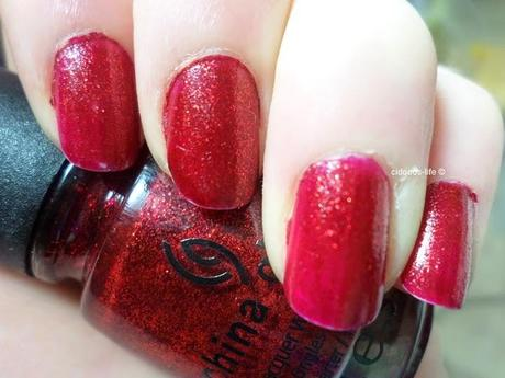 China Glaze '182 Ruby Pumps'-Tragebilder ♥
