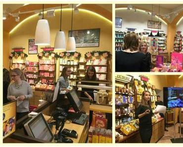 Sonntags… eingeschlossen im L`Occitane Shop in Frankfurt …