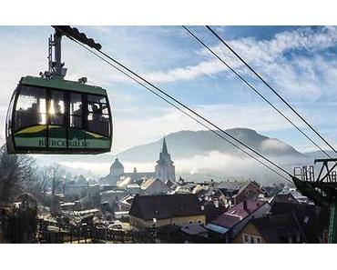Bild der Woche: Seilbahn mit Morgenstimmung in Mariazell