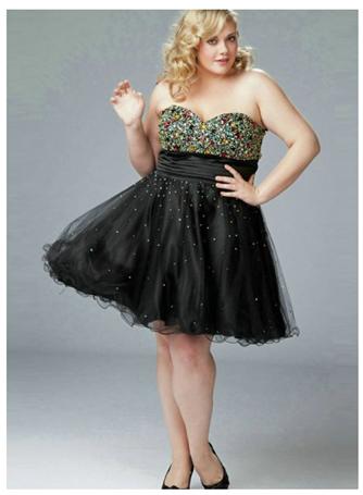 Wundervolle Kleider auch für Plus-Size Girls