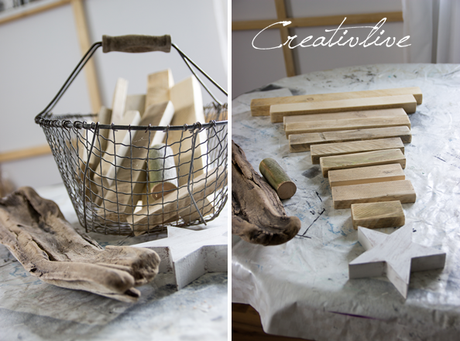 DIY Holz-Tannenbaum