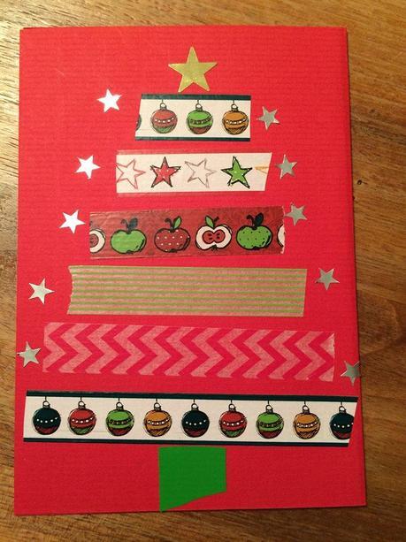 Adventskalenderfenster nr 5 gestalten spielen und - Weihnachtskarten mit kindern gestalten ...