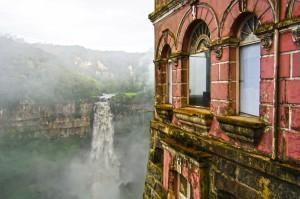 Spuk am Salto del Tequendama