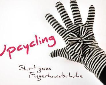 Upcycling: Shirt goes Fingerhandschuhe