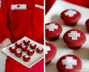 Rot-Kreuz-Cupcakes: Zuckersüßes für den guten Zweck