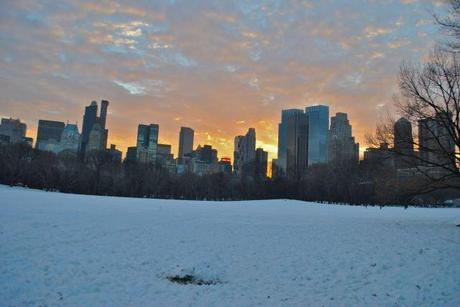 New Year's in the City – Snow