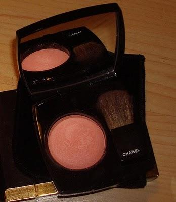 Chanel Joues contraste blush  65 Espiegle swatches