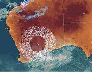 Huge ring appears over Australia, is HAARP involved?