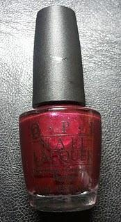 Nadins erster Gastbeitrag: Review OPI – The One That Got Away