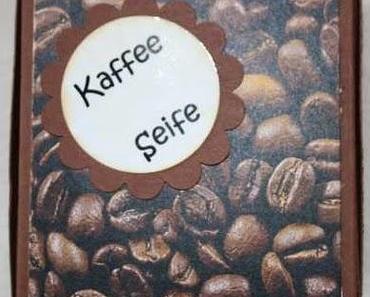 Kaffee Seifenverpackung