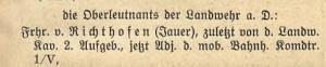 Militär 1816 bis…