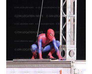 Spider-Man Reboot: Neue Fotos von den Dreharbeiten veröffentlicht