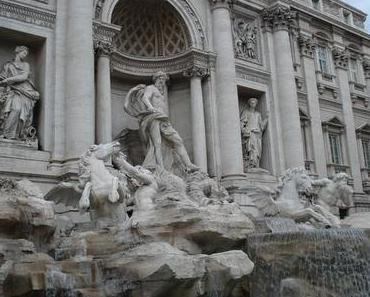 Der Trevi Brunnen in Rom