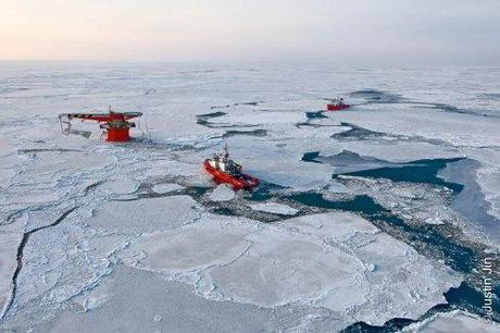 Gas and oil exploration in the Russian Arctic