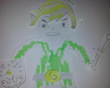 """Fondanttorte """"The Legend of Zelda"""""""
