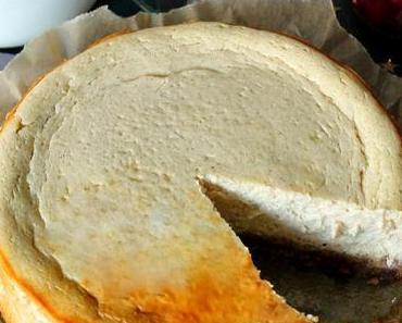 Kleiner Spekulatius-Cheesecake mit Amarettokirschen