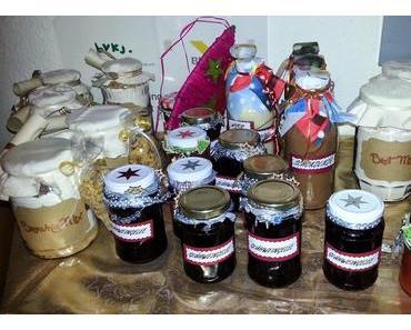 Backmischungen im Glas und mehr....oder auch Last-Minute-Geschenkideen