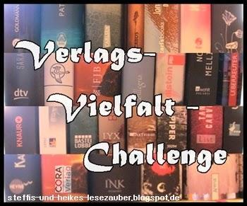 [Verlags-Vielfalt-Challenge] 4. Monat - Lesefortschritt (15.11.-14.12.2014)