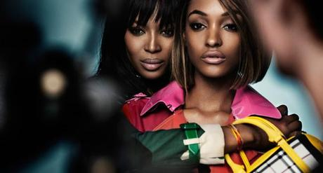 Burberry Frühling/Sommer 2015-Kampagne, Behind the Scenes mit Naomi Campbell und Jordan Dunn