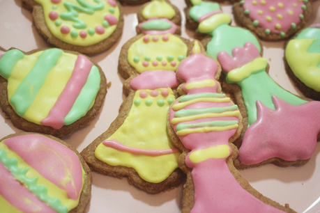 Adventskekse mit Royal Icing