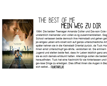 |Buch-Film#17| Mein Weg zu Dir - THE BEST OF ME