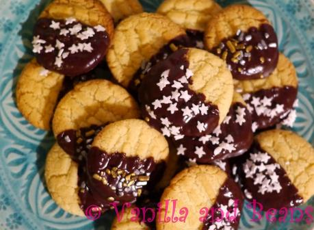 Vegane Weihnacht III: Chocolate dipped Shortbread