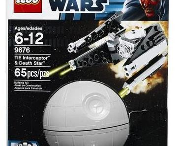 Lego Star Wars - 9676 - TIE Interceptor & Death Star - Planet Series 1