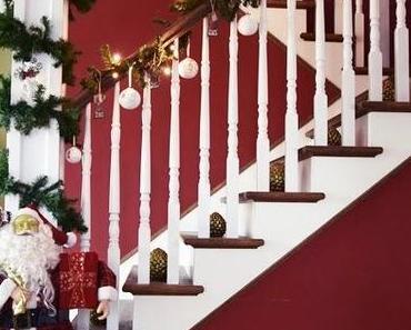 Weihnachten im Hamilton ... das Treppenhaus