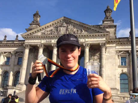 Finisher-Kathi in Berlin