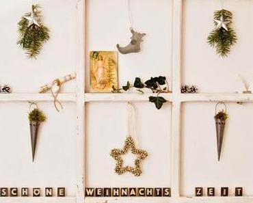Weihnachtsdeko im Hause Wohnpotpourri
