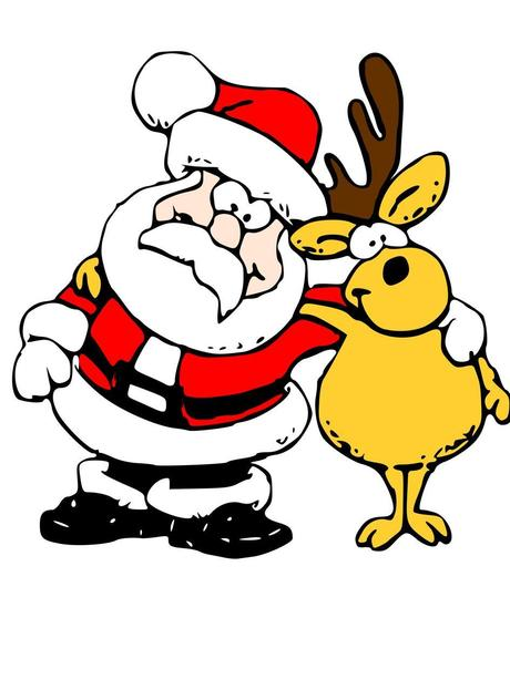 Lustige weihnachtsbilder gratis zum ausdrucken