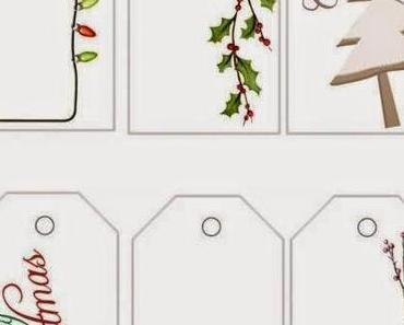 Freebie / Printout Geschenkanhänger zum 4. Advent