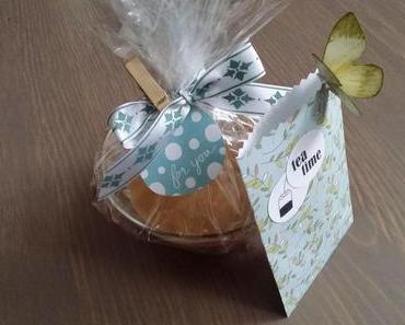 Kleine Geschenke: Zimtbutter & Tee- Schmetterling
