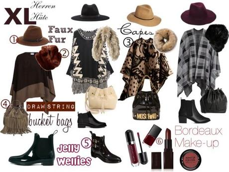 6 favourite Fall Trends 2014