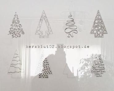 {DIY} Weihnachten an der Wand letzer Teil ;-)