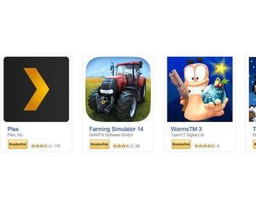 Android Apps im Wert von über 175 EUR bei Amazon gratis