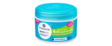 essence Sortimentswechsel Frühling Sommer 2015 – Neuheiten essence pure skin anti-spot 4in1 cleansing pads